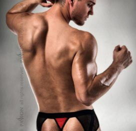 007 THONG red S/M – Passion