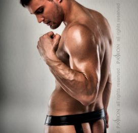 008 THONG black L/XL – Passion