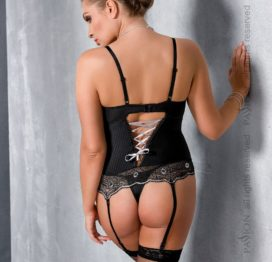 EDITH CORSET black 6XL/7XL – Passion