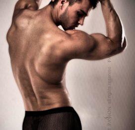 Эротические мужские шорты 004 SHORT black S/M – Passion