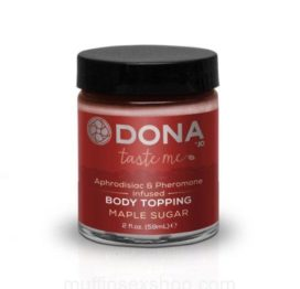 Карамель для тела DONA Body Topping – MAPLE SUGAR