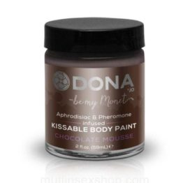 Краска для тела Dona Kissable Body Paint – CHOCOLATE MOUSSE