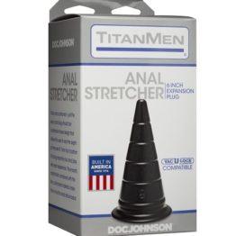 Анальный стимулятор Doc Johnson TitanMen -6 Inch Plug