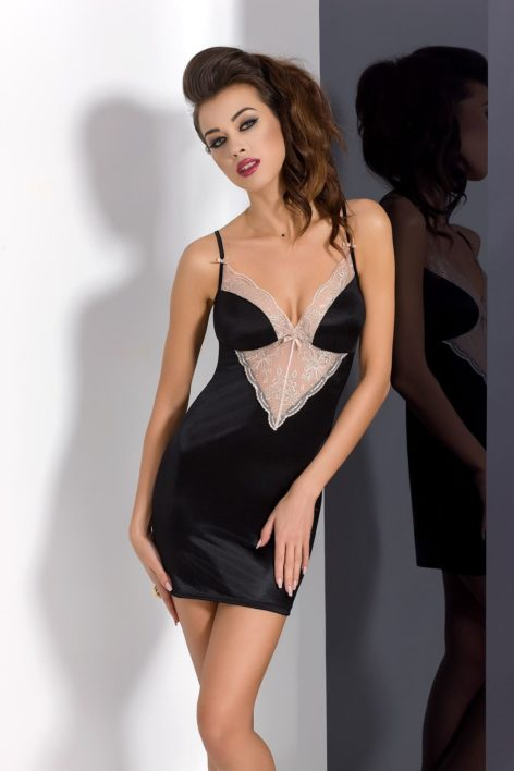 LOTUS CHEMISE black L/XL – Passion