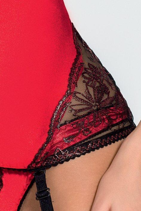 BRIDA CORSET red S/M – Passion