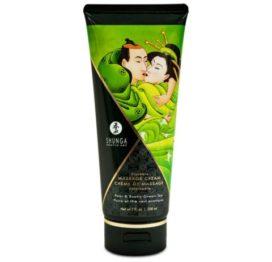 Съедобный массажный крем KISSABLE MASSAGE CREAM – Pear & Exotic Green Tea (200 мл)